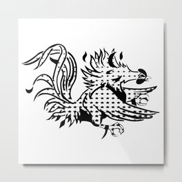 gamecock III Metal Print