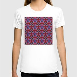 Red Terracotta Sixties T-shirt