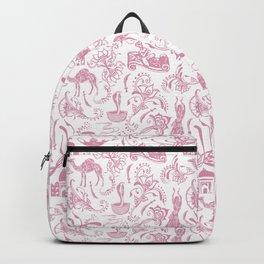 Arabian Nights // Blush Pink Backpack