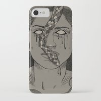 goddess iPhone & iPod Cases featuring Goddess by MOBERG DESIGN