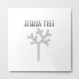 Joshua Tree Raízes by CREYES Metal Print