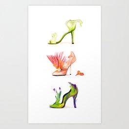 Fantasy Shoes Art Print
