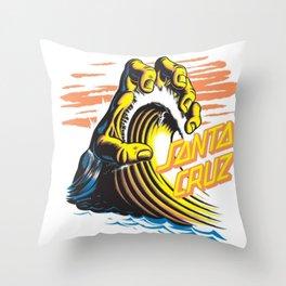 SantaCruz Surf Throw Pillow