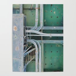 industrial pastels 2 Poster