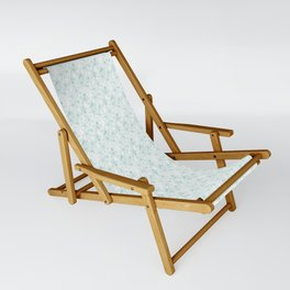 Floral Freeze White Sling Chair