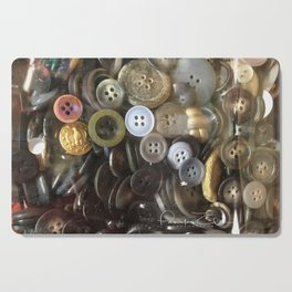 Button collection Cutting Board