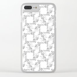 A Dragon Life Cycle Clear iPhone Case