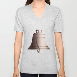 Liberty Bell With Crack Unisex V-Neck