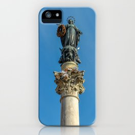 Column of the Immaculate Conception iPhone Case