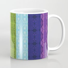 TorsoPattern Gay Pride Flag (Original 8-Color) Coffee Mug