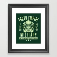 Long Live Kuvira Framed Art Print