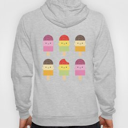 Kawaii Summer Ice Lollies / Popsicles Hoody