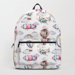 Sky Voyage Watercolor Backpack