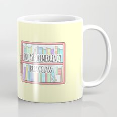Emergency Bookshelf Mug