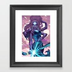 Giant Woman Framed Art Print