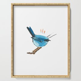 bluebird study Serving Tray