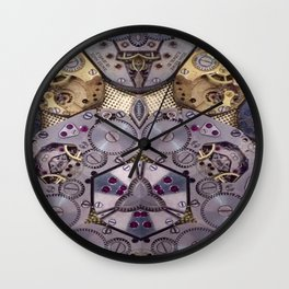The King Of Time Wall Clock