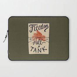 Freedom biker print Laptop Sleeve