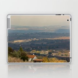 Sunset Italian countryside landscape view Laptop & iPad Skin