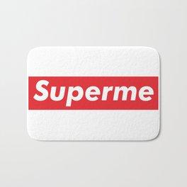 Supreme meme - superme Bath Mat