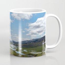 Norway - Clouds and Lakes Coffee Mug