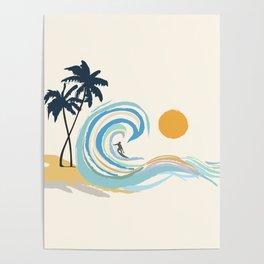 Minimalistic Summer II Poster