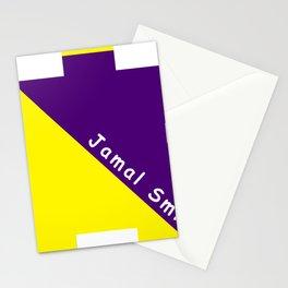 Ninja Yellow and Purple Stationery Cards
