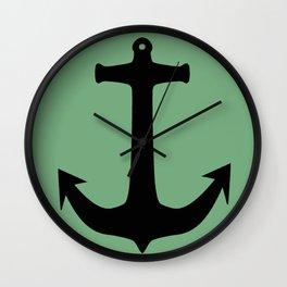 Anchors Away! Wall Clock