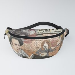 Tom Waits' Melodramatic Nocturnal Scene Fanny Pack