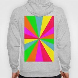 Neon Rainbow Burst Hoody