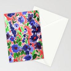 Isla Floral Orange Stationery Cards
