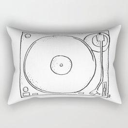 recordplayer Rectangular Pillow