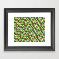 St. Patrick's Pattern Framed Art Print