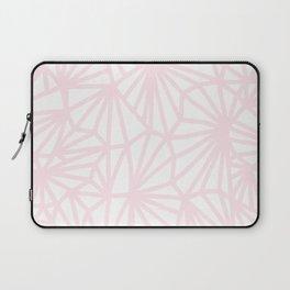 Handmade minimal geometric pattern - pastel pink #decor Laptop Sleeve