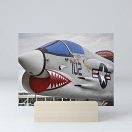 1957 F-8K Crusader Mini Art Print