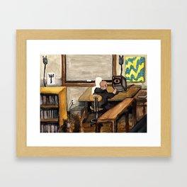 Chrysalis Claustrum Framed Art Print