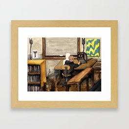 Chrysalis Claustrum Framed Art Print