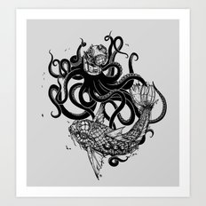Into the Abyss Art Print