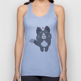 Happy Cat Unisex Tank Top