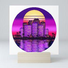 Sunset City Mini Art Print