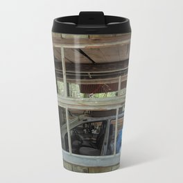 Window - Abondoned Places Metal Travel Mug