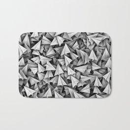 Paper planes Bath Mat