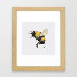 Dancing Bumblebees Framed Art Print
