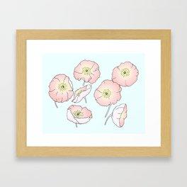 Icelandic Poppies Framed Art Print