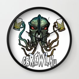 Cbrewlhu Wall Clock
