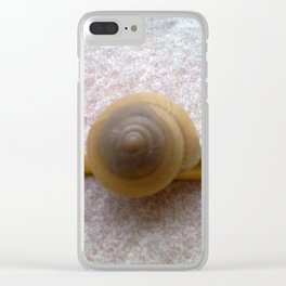 Slow Pace Clear iPhone Case