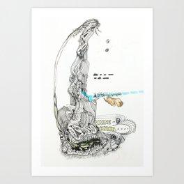 KARMIC IMPULSES: From Flora to Fauna Art Print