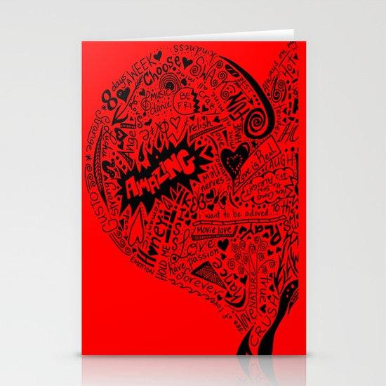 Heartfull en colour Stationery Cards