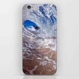 Crystal Cylinder #2 iPhone Skin