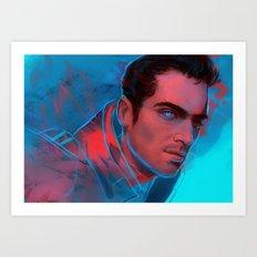 Mass Effect - Kaidan Art Print